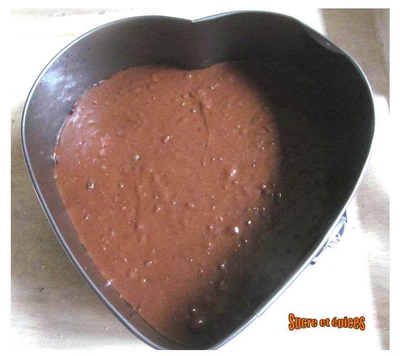 Ultra fondant au chocolat et crème de marrons (sans gluten)