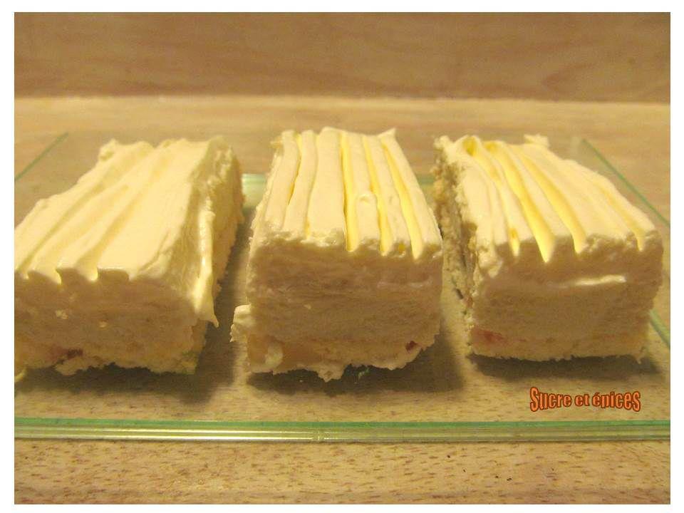 Gâteau crémeux parfumé aux agrumes