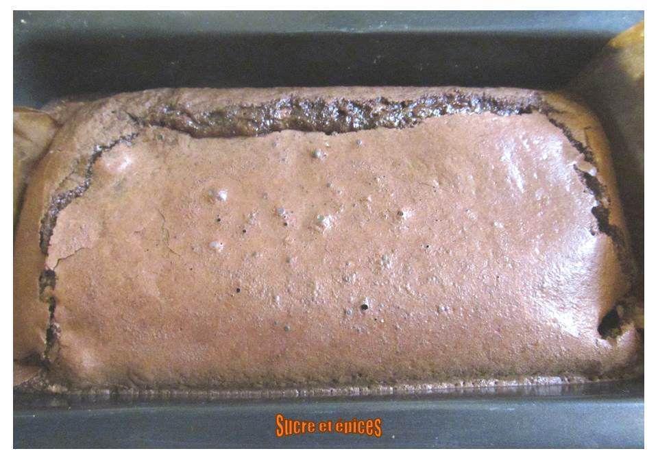 Gâteau au chocolat sans beurre ni farine (sans gluten)