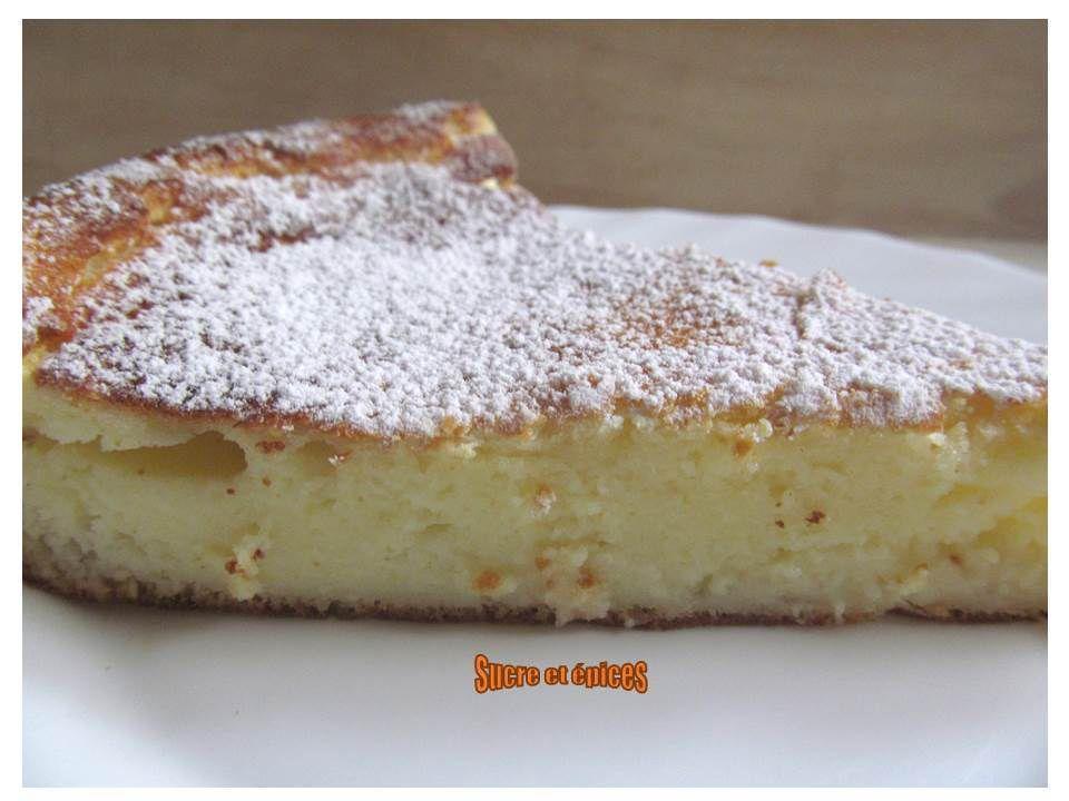 Gâteau au fromage blanc sans gluten