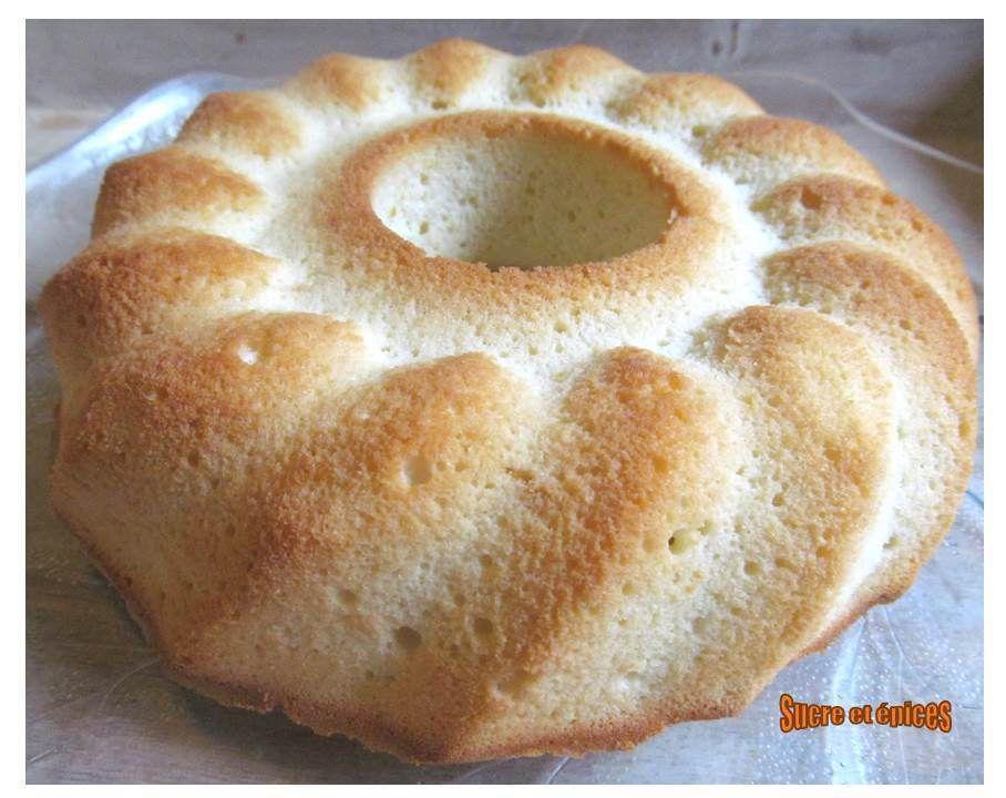 Gâteau neige au citron
