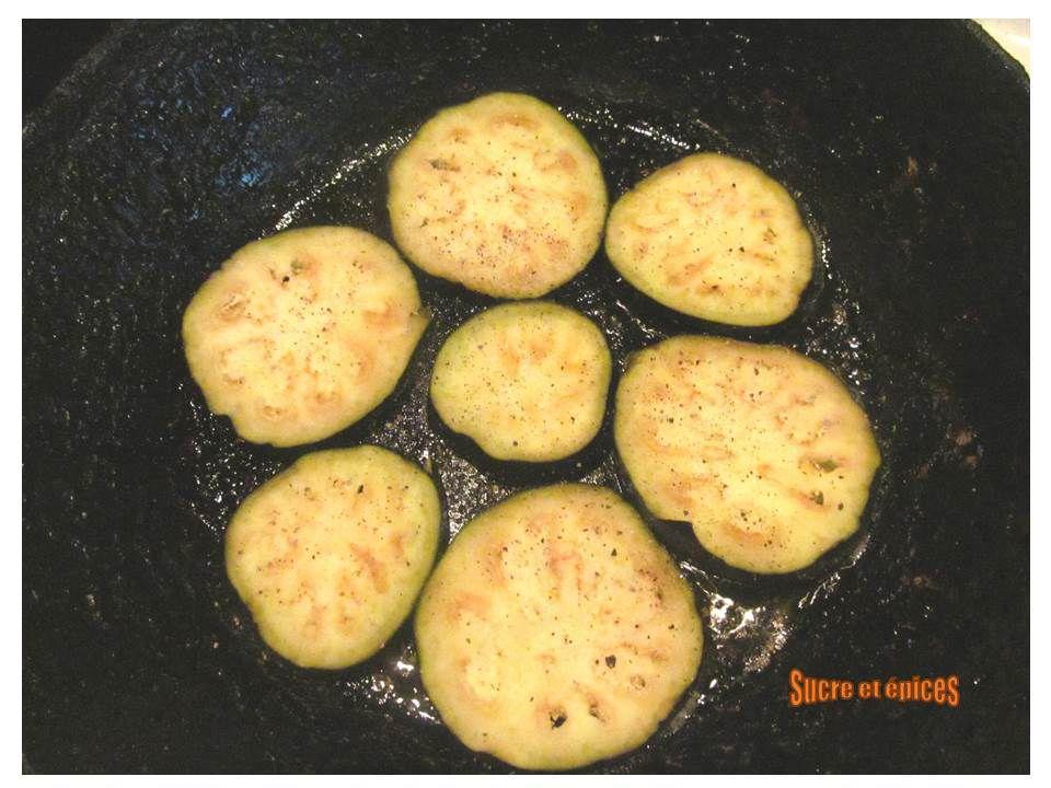 Tartines chaudes aubergines tomates mozzarella