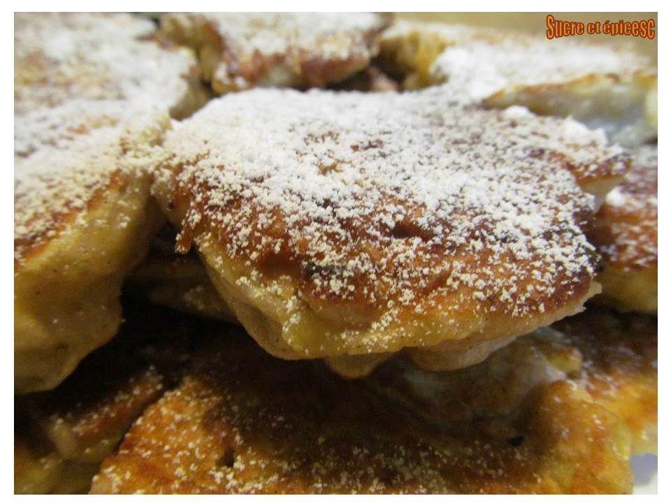 Pancakes pommes-banane à la levure boulangère