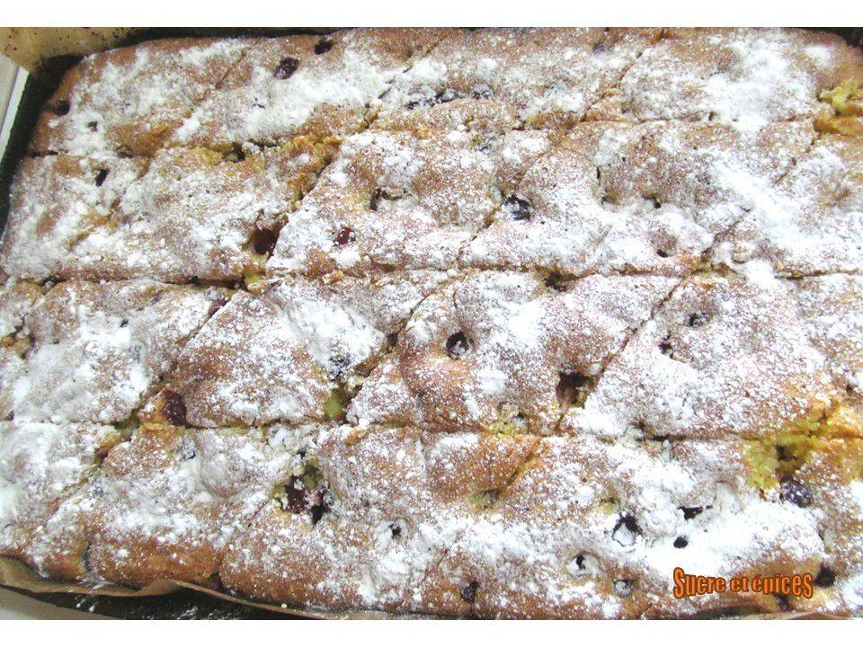 Gâteau facile aux griottes ou cerises