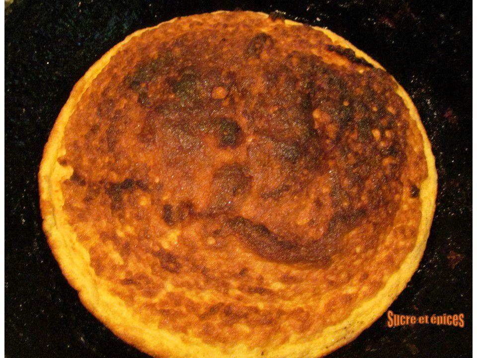 Omelette soufflée aux fruits rouges