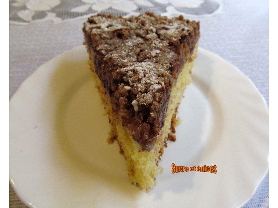 Ropfküche aux quetsches et aux noix (brioche de Rosheim)