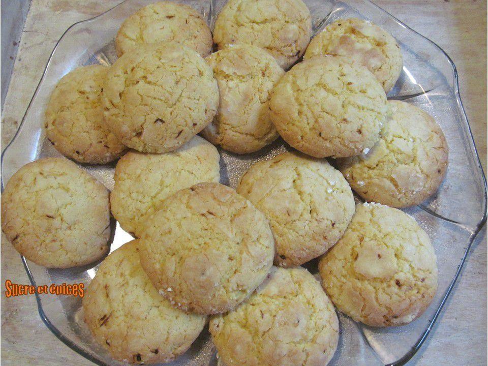 Biscuits moelleux au citron et à la noix de coco