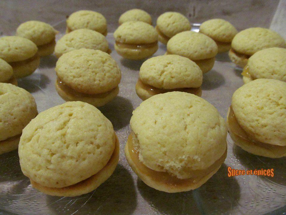 Biscuits au citron et lemon curd, comme des Whoopie pies