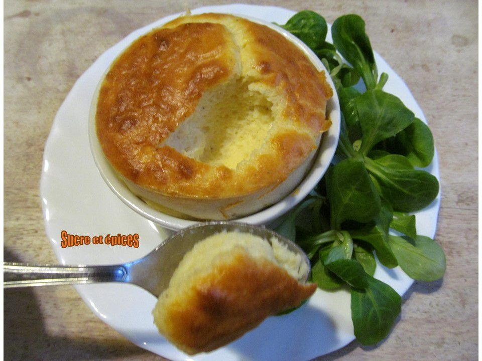 Soufflés normands au camembert