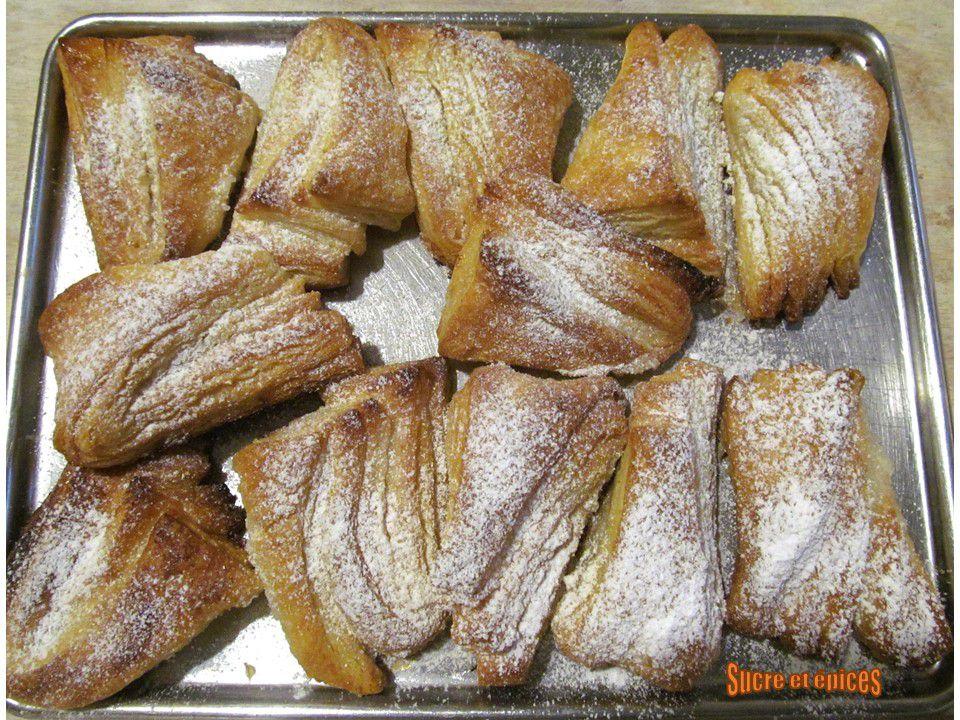 Biscuits feuilletés au sucre - version rapide et facile