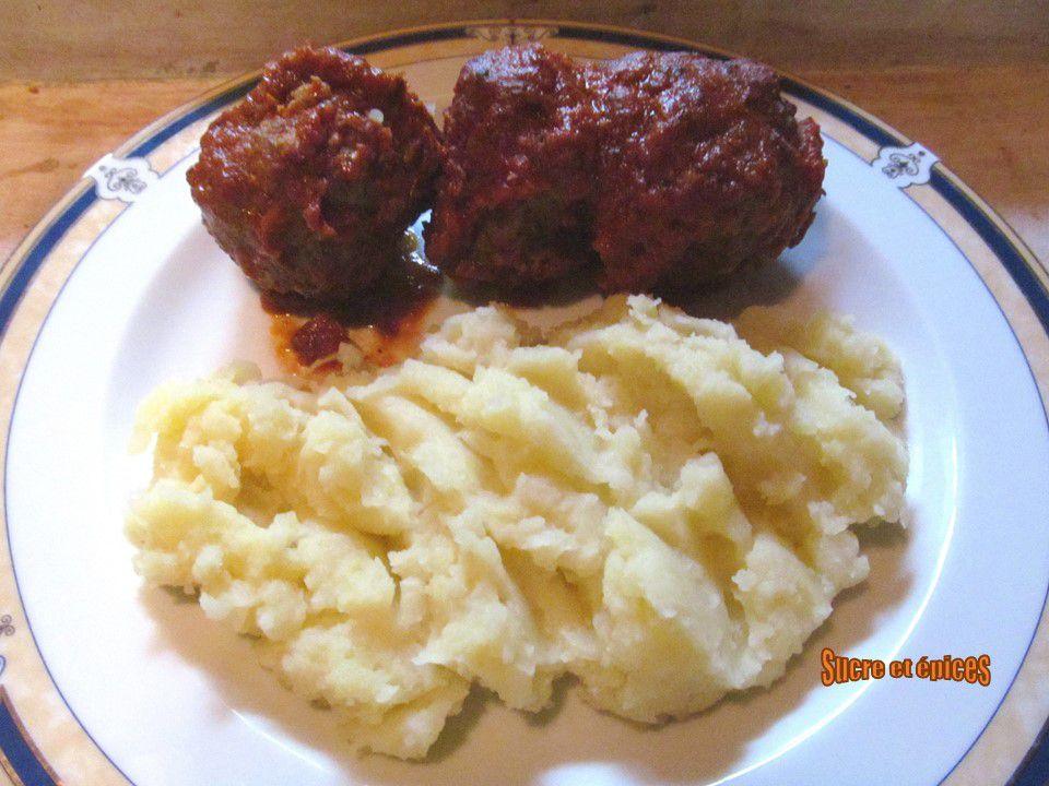 Boulettes italiennes en sauce tomates