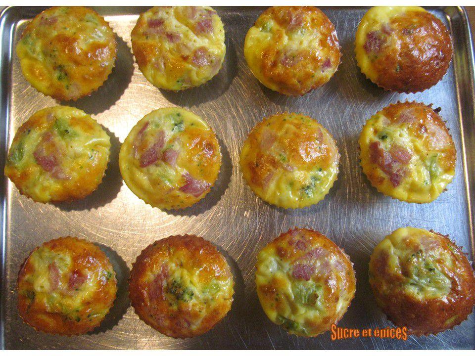 Muffins au brocoli façon frittata (low carb, sans gluten)