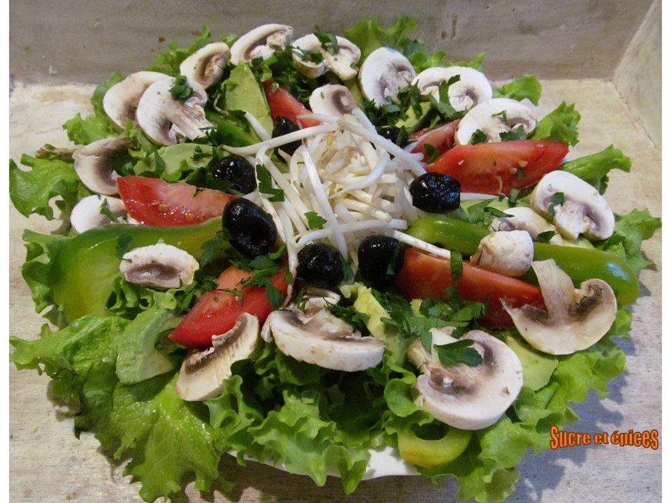 Salade de légumes (végétarienne)