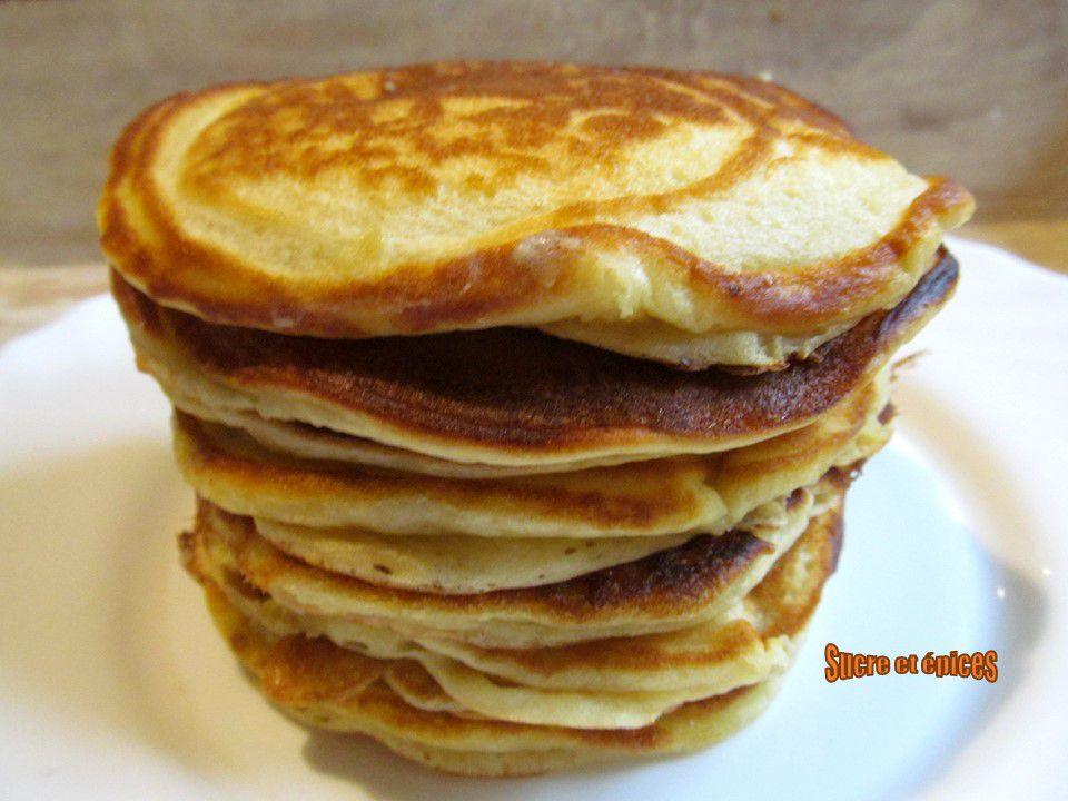 Pancakes ricotta citron