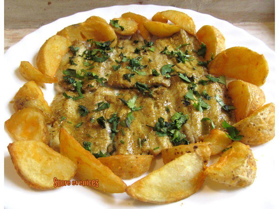 Filets de sardines au curry, cuits au four