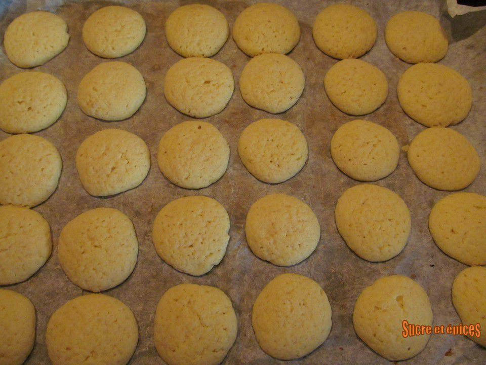 Biscuits au citron - Lemon coolers