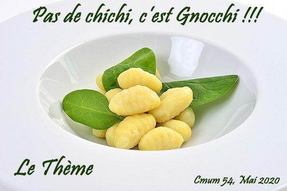Gnocchi au fromage frais façon Baklava