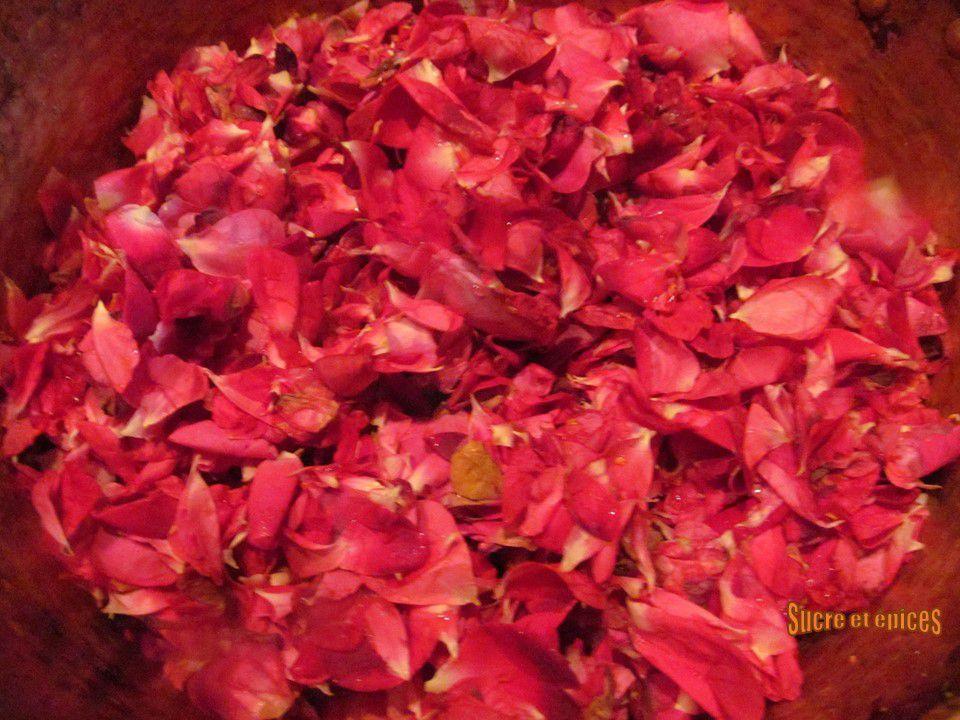 Confiture de roses - Dulceata de tradafiri