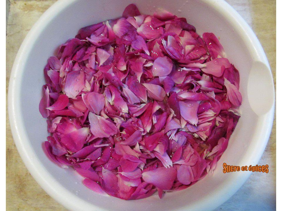 Sirop de roses albanais