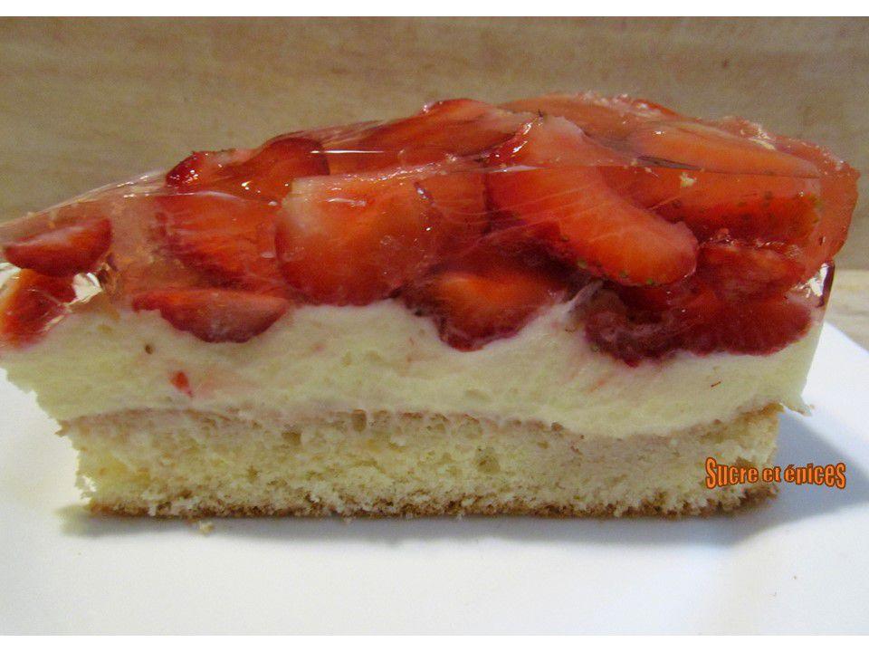 Gâteau Tyrolien aux fraises