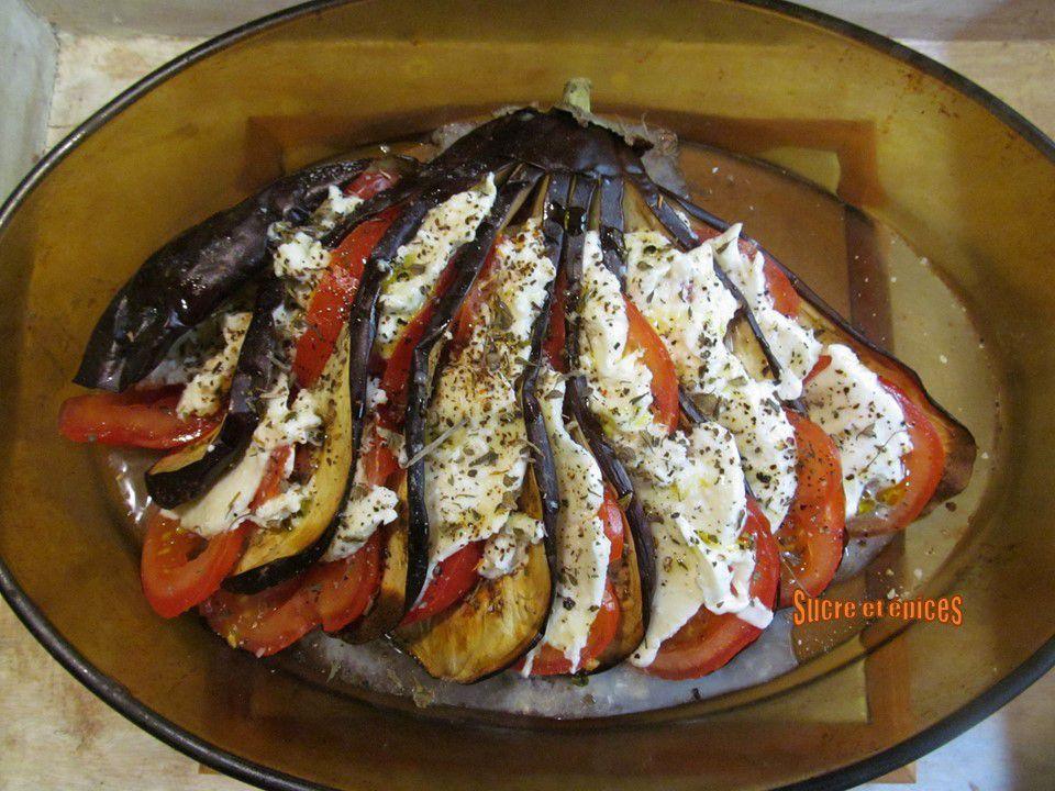 Evantail d'aubergine