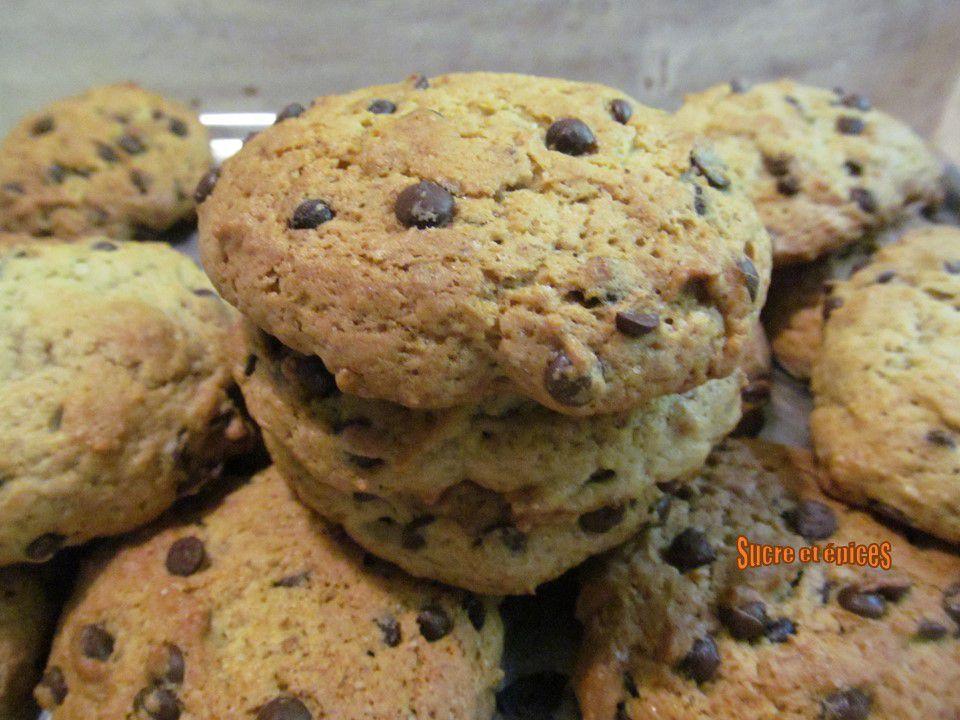 Cookies à la banane et aux pépites de chocolat (sans oeufs)