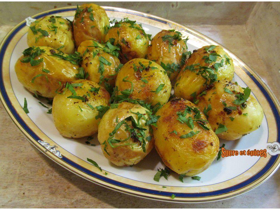 Pommes de terre dorées au four