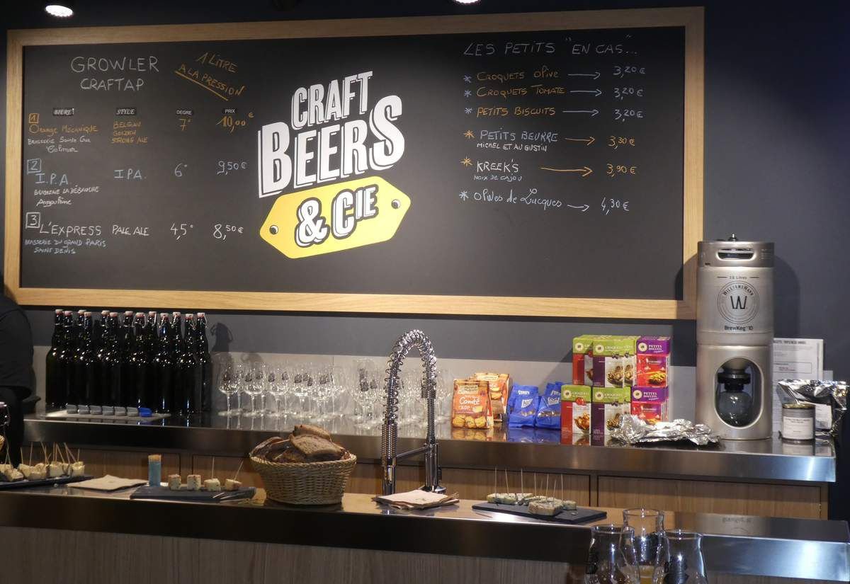 Photo du bar Craft Beer & Cie
