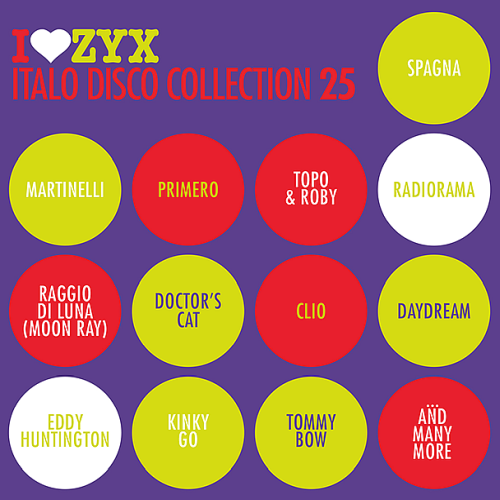 I Love ZYX Italo Disco Collection 25 (2018)