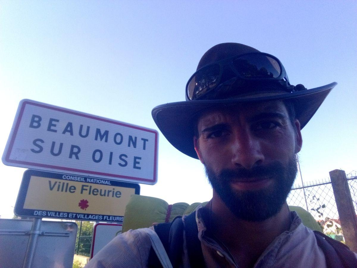 J'ai atteint la ville de Bruyère sur Oise juste apres celle de Beaumont le mardi 26 juin après de nombreuses peripéties avec Arbre de Tempête... Cela je vous le conterai également dans mon prochain récit.