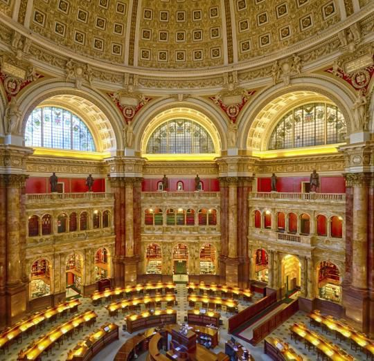 LA BIBLIOTHEQUE DU CONGRES DE WASHINGTON