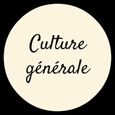 VOTRE QUIZZ DE CULTURE GENERALE