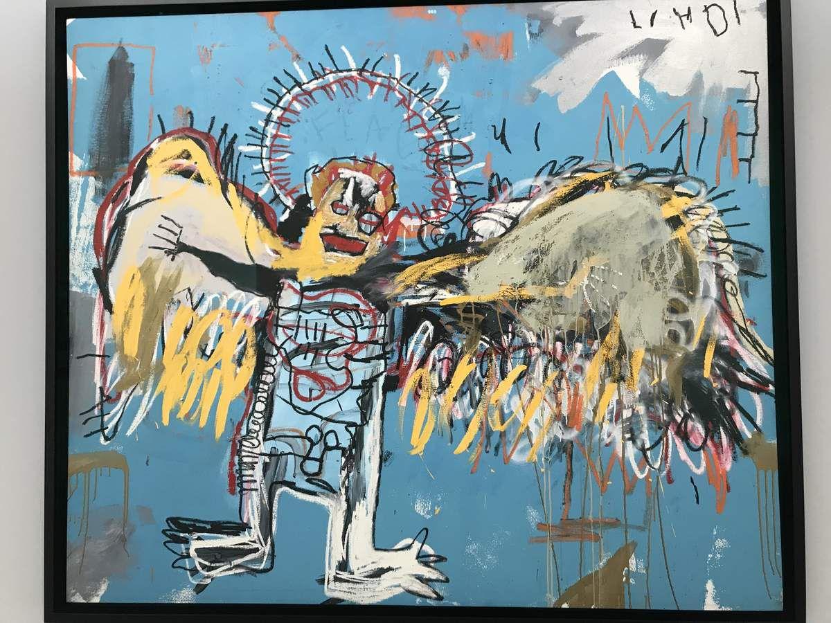 Boticelli, Rothko, JM Basquiat  à la Fondation Carmignac et Coucher de Soleil magique sur la jaune Garde de l' île du petit Langoustier.