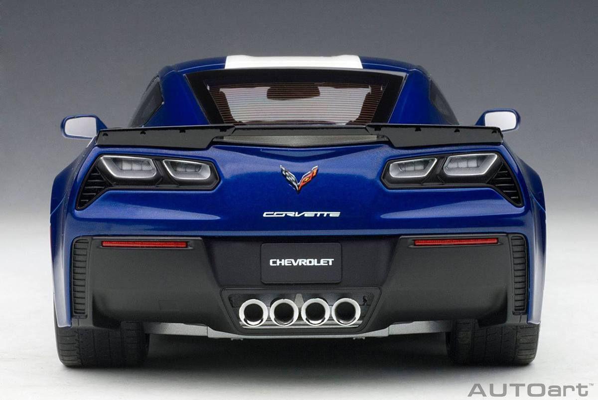 NEW : la Corvette Grand Sport d'AutoArt à l'échelle 1:18