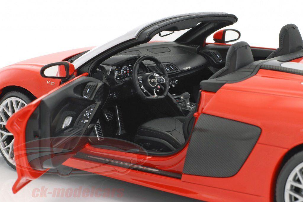 BON PLAN : l'Audi R8 Spyder 1:18 de iScale à seulement 49,95 €