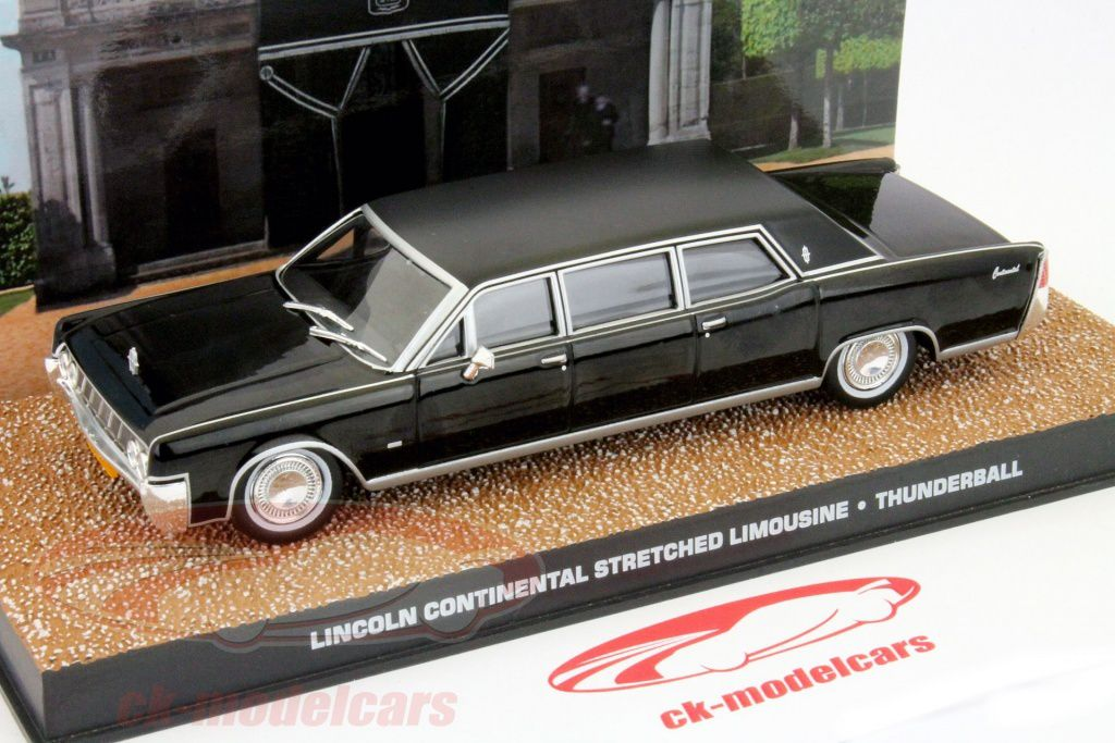 Lincoln Continental, dans Thunderball, 9,95 €