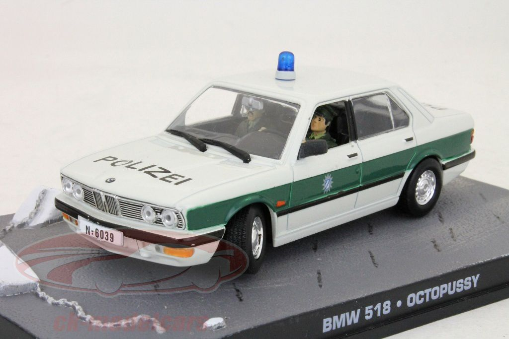 BMW 518 Police, dans Octopussy, 4,95 €