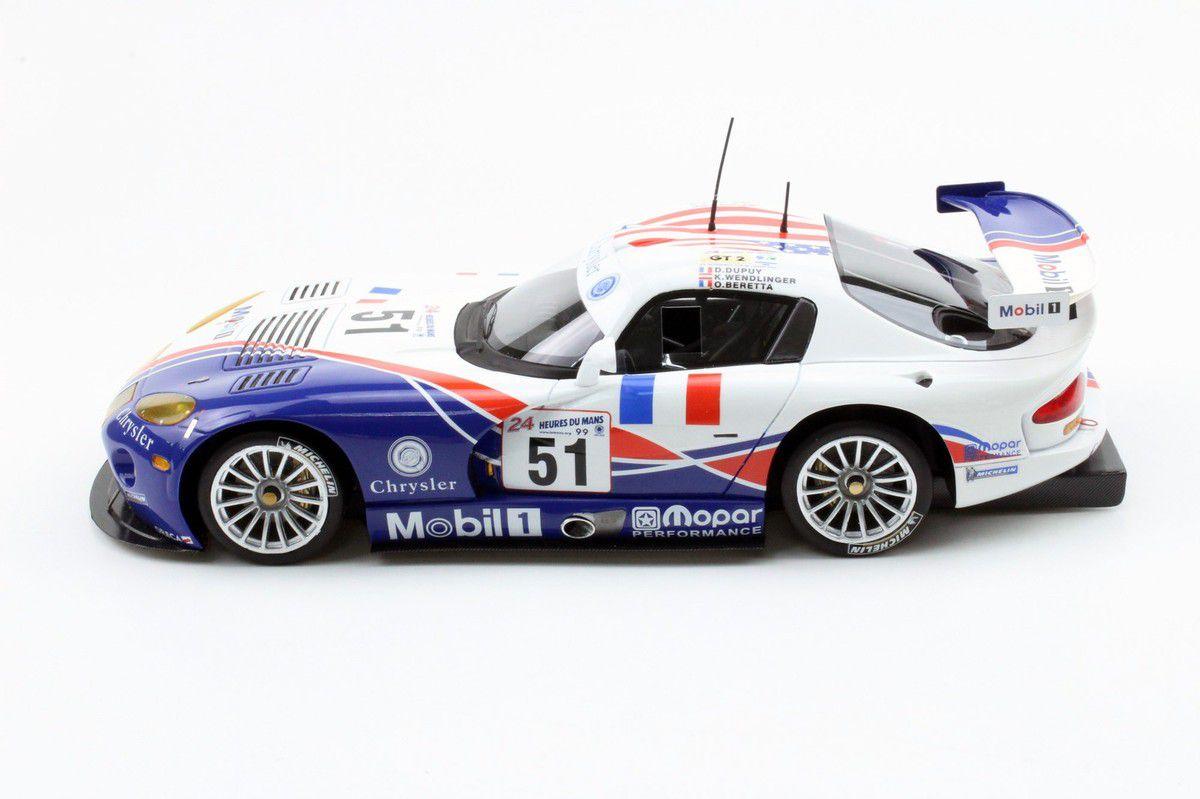 La Chrysler Viper GTS-R Le Mans 1999 disponible au 1:18... Précommandes ouvertes
