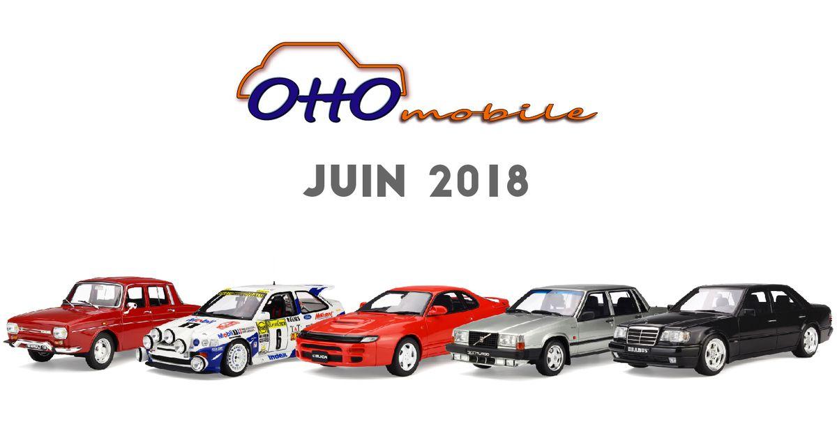 Ottomobile : ouverture des précommandes de juin 2018