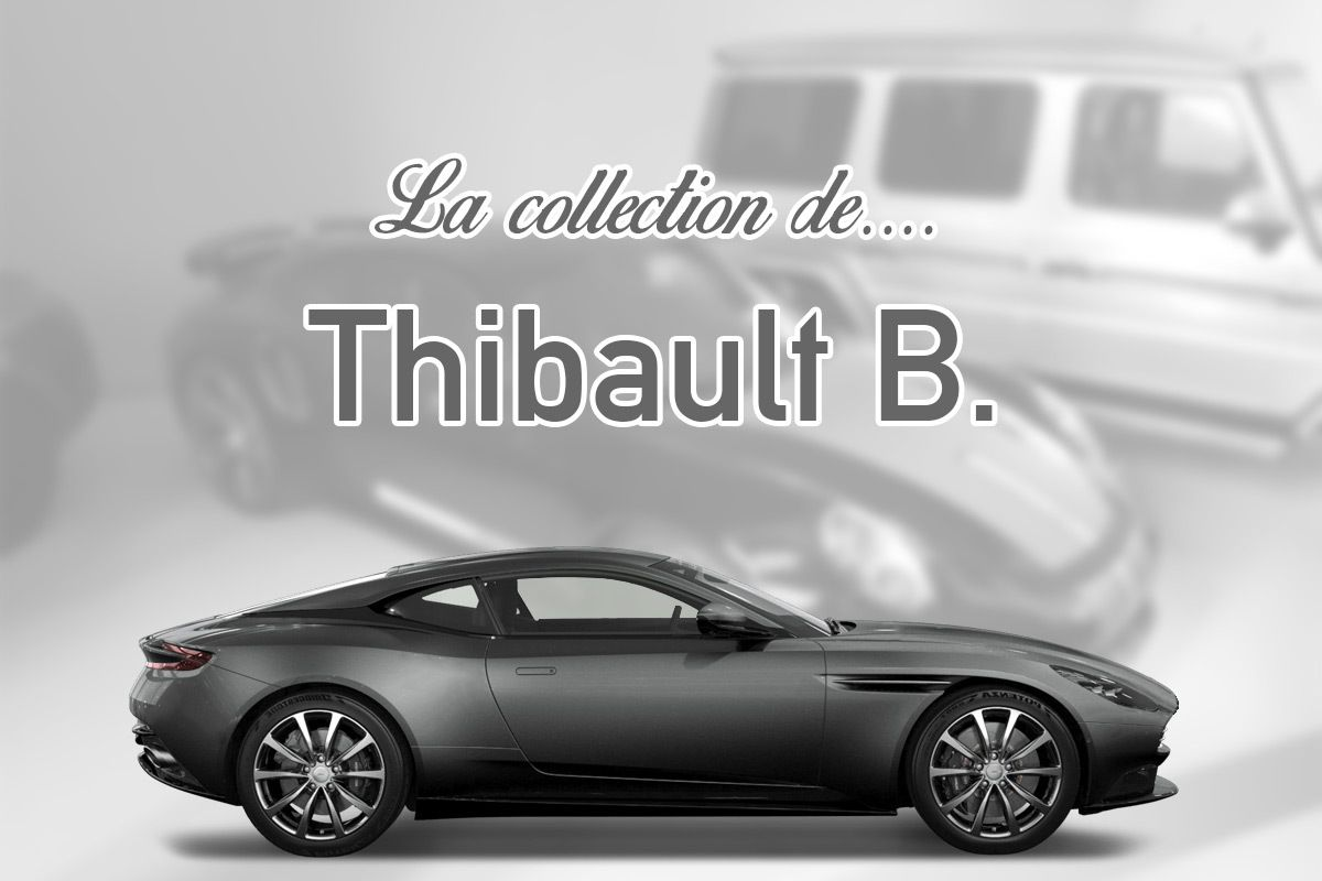 La collection sportive de Thibault B.