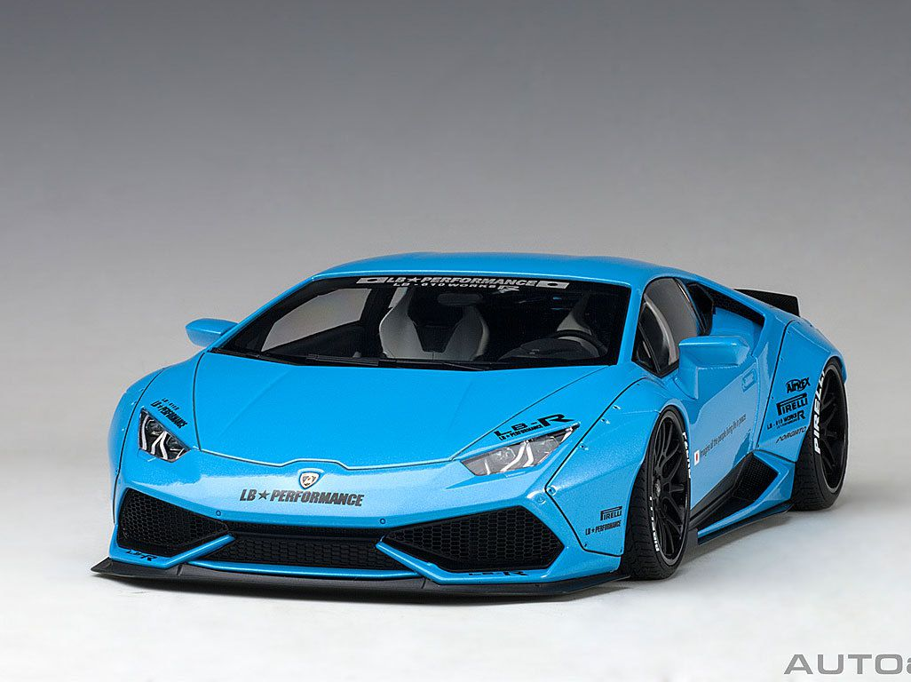1/18 : Autoart présente la Lamborghini Huracan Liberty Walk !