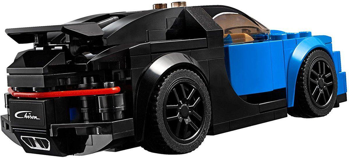 Lego : deux Bugatti Chiron, deux échelles, deux prix !