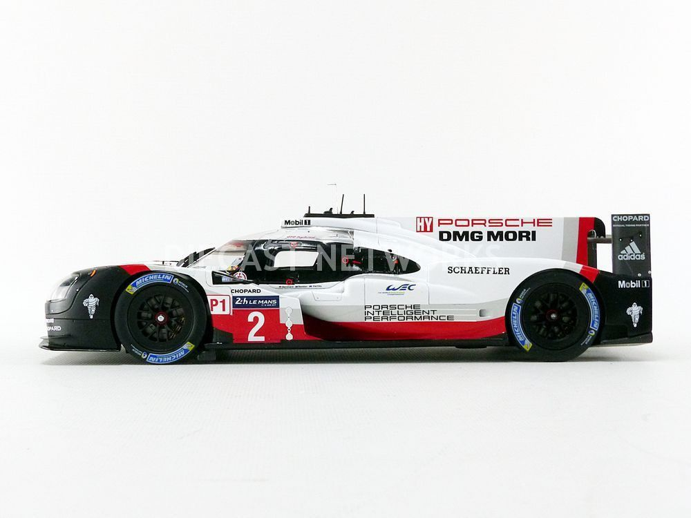 Spark dévoile la Porsche 919 Hybrid victorieuse du Mans en 2017