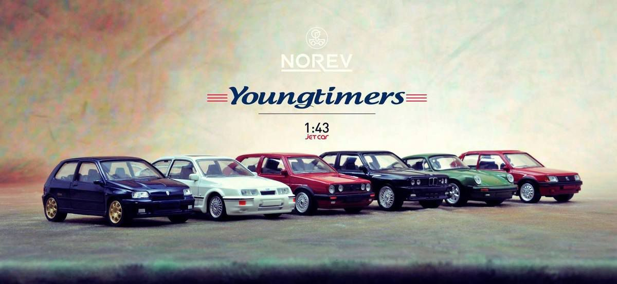 Norev lance une collection Jet Car Youngtimers au 1:43