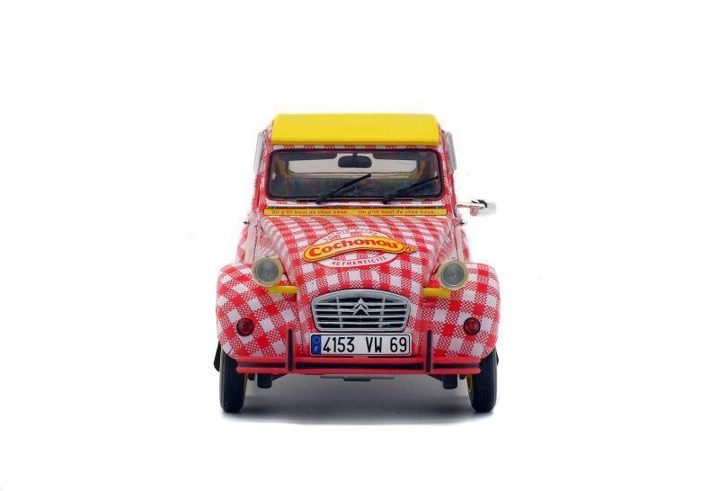 1:18 : La Citroën 2CV Cochonou de Solido prête à être expédiée !