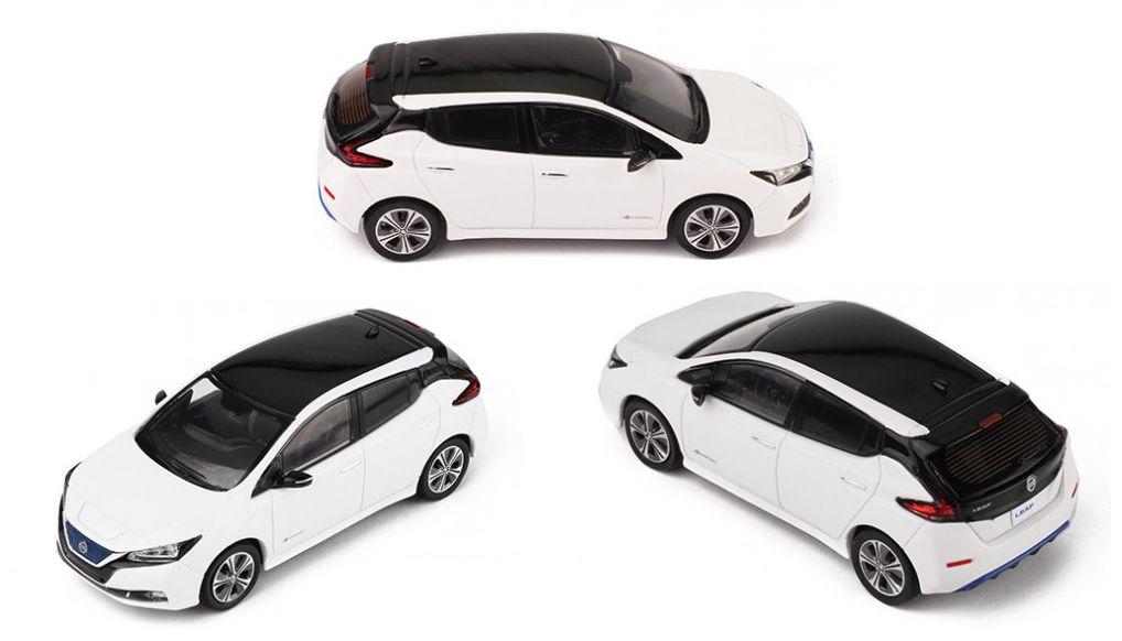 1:43 : La Nissan Leaf 2018 d'IXO Models a fière allure !