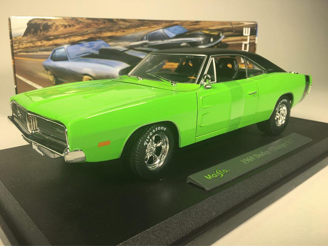 1/18 : Maisto tease la Dodge Charger R/T de 1969