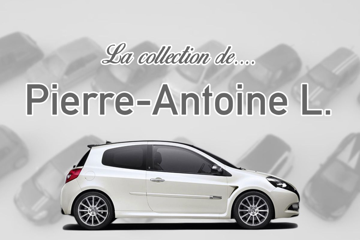 La collection Renault Sport de Pierre-Antoine L.