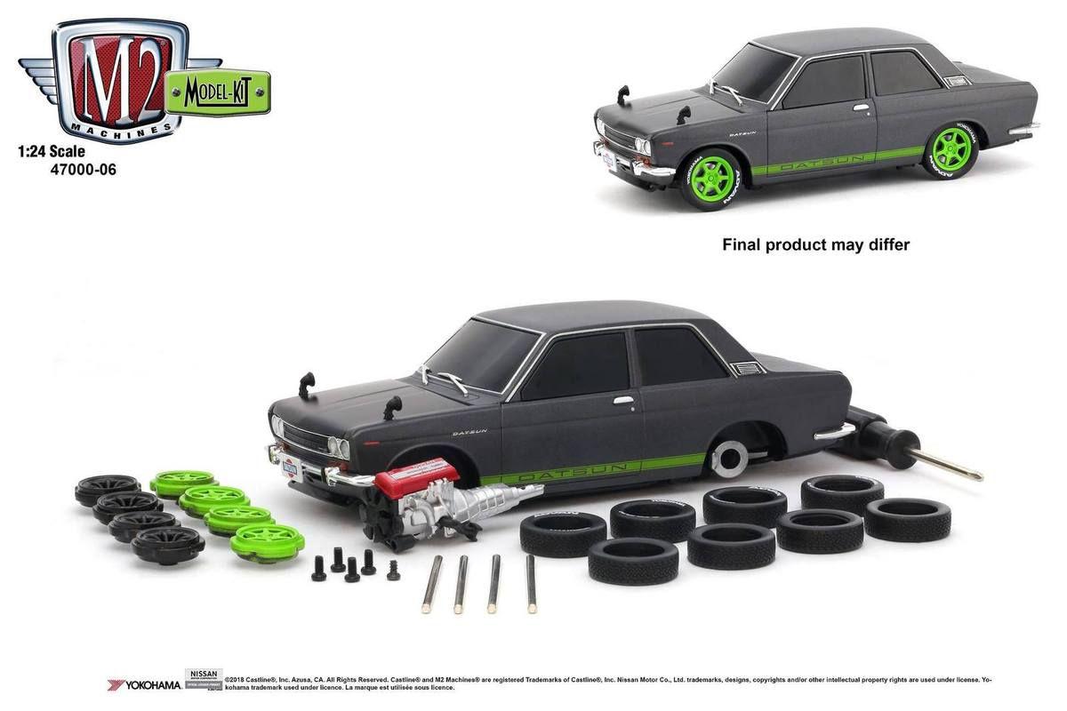 1/24 : Une Datsun 510 customisable chez M2 Machines !