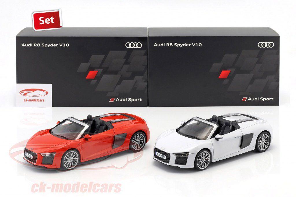 BON PLAN : Deux Audi R8 iScale au 1/18 pour seulement 69,95 € !